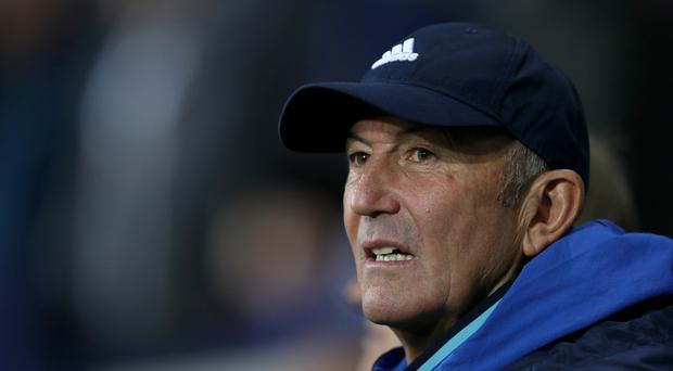 West Brom manager Tony Pulis saw his side beat Burnley in the Premier League