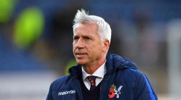 Crystal Palace manager Alan Pardew could be set for the chop