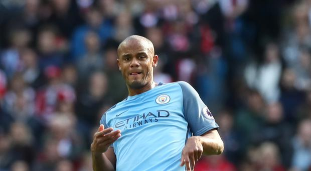 Manchester City will be without Vincent Kompany once again