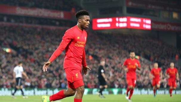 Liverpool's Daniel Sturridge could be heading to Southampton according to reports