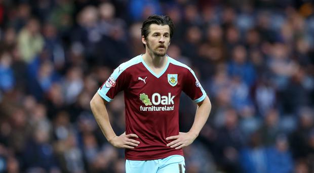 Joey Barton is back in training with former club Burnley