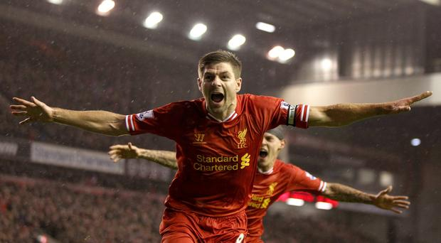 Steven Gerrard, arguably the most influential English player of his generation