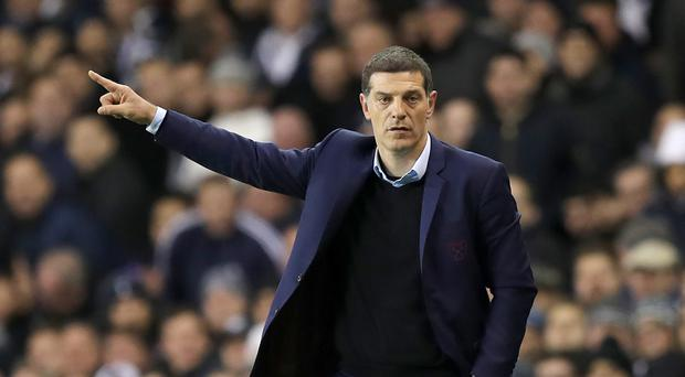 Slaven Bilic saw his West Ham side beaten by Tottenham last weekend