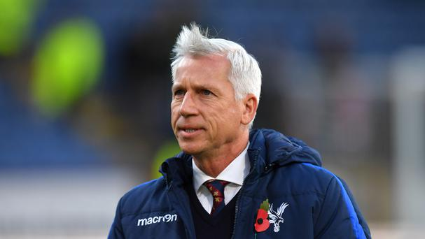 Crystal Palace have lost their last five league games under manager Alan Pardew