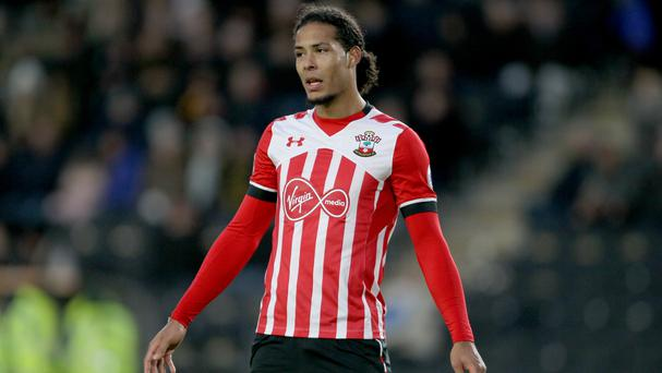Virgil van Dijk, pictured, will be reunited with Ronald Koeman this weekend