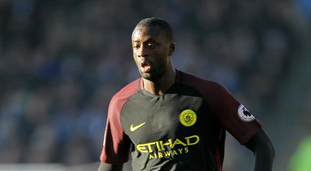 Yaya Toure was selective with his sprints, but drove for space when it opened up in the final third and he was still going at the final whistle