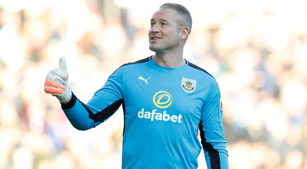 Burnley goalkeeper Paul Robinson loved his return to the Premier League
