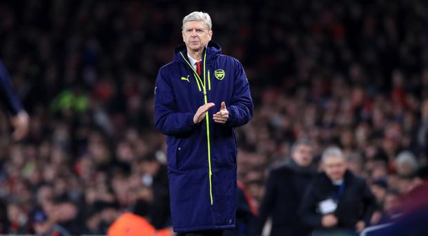 Arsene Wenger has not seen Arsenal lose since the opening weekend of the season.