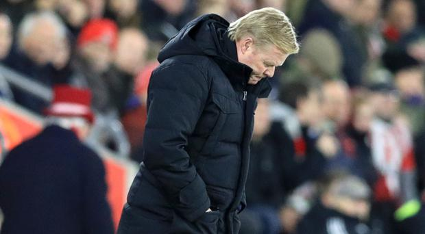 Ronald Koeman admitted he is troubled by Everton's loss at Southampton