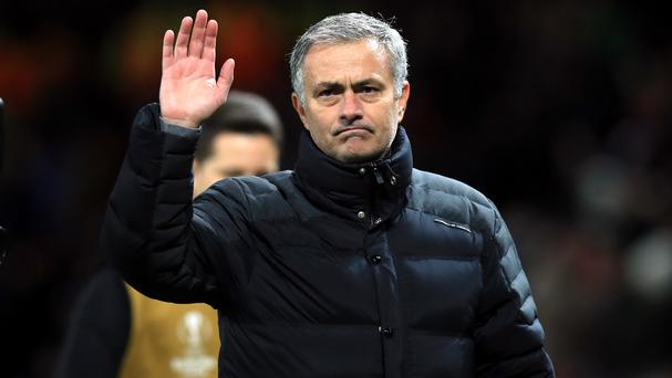 Manchester United manager Jose Mourinho was sent off during his side's draw against West Ham