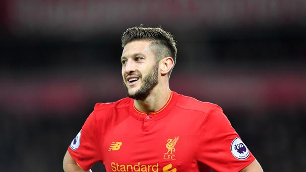Liverpool's Adam Lallana is wanted by PSG according to reports.