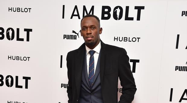 Usain Bolt attending the 'I Am Bolt' World Premiere at Odeon Leicester Square, London