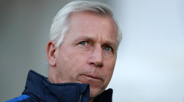 Alan Pardew is under increasing pressure at Crystal Palace