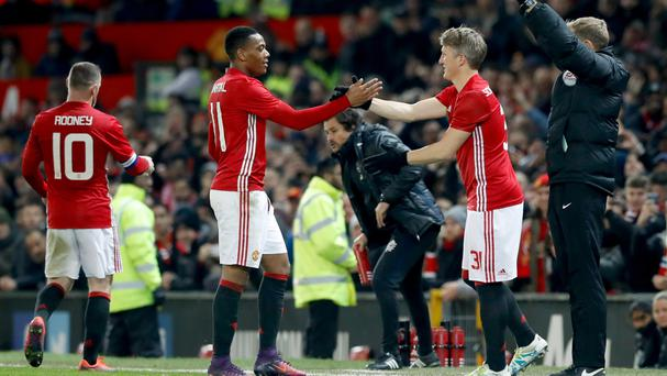 Bastian Schweinsteiger finally made his first appearance for Manchester United this season