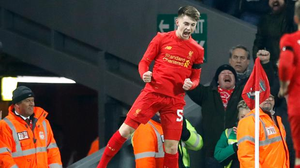 Hard work will help keep Ben Woodburn on the right track, according to striker Divock Origi
