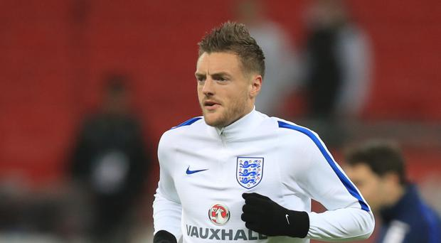 Jamie Vardy is the only Englishman shortlisted for the FIFPro World XI