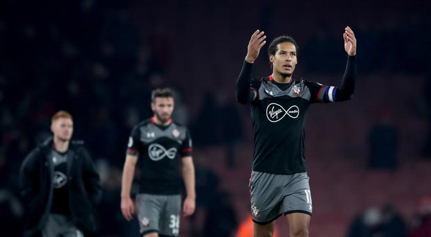 Virgil van Dijk, right, is consistently among Southampton's finest performers
