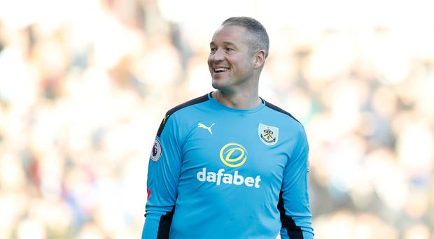 Burnley's back-up goalkeeper Paul Robinson may start again against Stoke