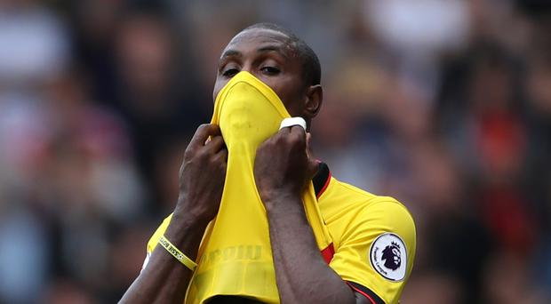 Out-of-form striker Odion Ighalo has been told he still has a future at Watford