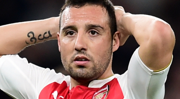 Santi Cazorla will be out of contention for Arsenal for the next three months