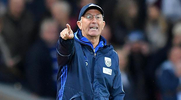 West Brom manager Tony Pulis left his former club Crystal Palace in August 2014