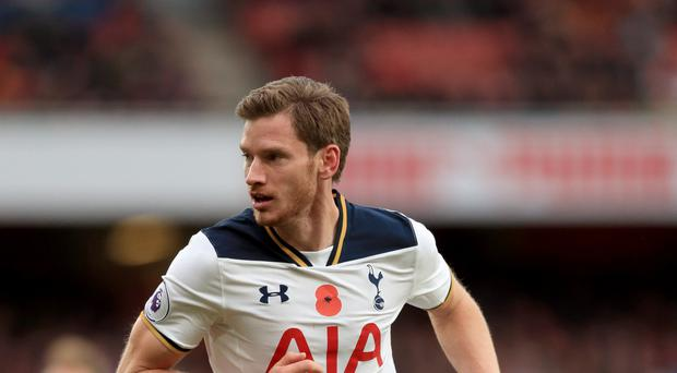 Jan Vertonghen has signed a new contract at Tottenham