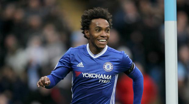 Willian has revealed he held talks with Manchester United