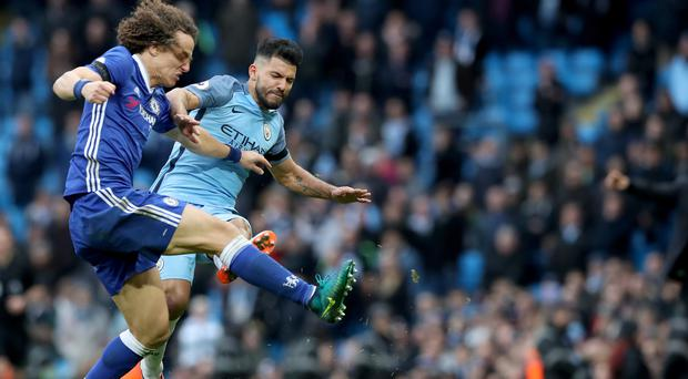 Manchester City manager Pep Guardiola apologised for the injury-time brawl sparked by Sergio Aguero's reckless challenge on David Luiz