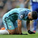 Manchester City striker Sergio Aguero faces a four-match ban after being sent off in the 3-1 defeat at home to Chelsea