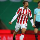 Marc Muniesa's first Premier League goal lifted Stoke up to ninth