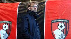 Jurgen Klopp watched on as Liverpool threw away at commanding lead at Bournemouth