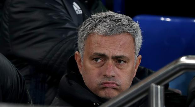 Manchester United manager Jose Mourinho is unhappy at criticism of his side