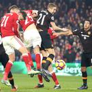 Gaston Ramirez heads in Middlesbrough's winner