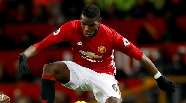 Manchester United's Paul Pogba will come up against his brother Florentin