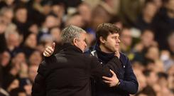 Mauricio Pochettino and Jose Mourinho
