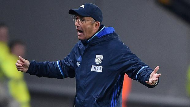West Brom manager Tony Pulis, pictured, understands why Chelsea boss Antonio Conte is animated in the dugout