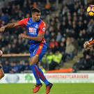 Crystal Palace's Frazier Campbell scores