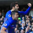 Diego Costa sent Chelsea back to the top