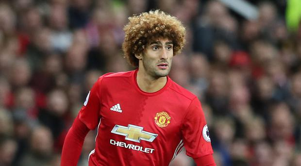 Marouane Fellaini could be about to end his time at Old Trafford