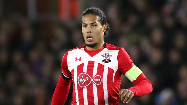 Southampton defender Virgil van Dijk, pictured, is not set to be sold in January