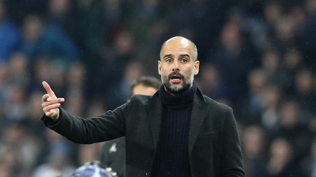 Pep Guardiola is in the spotlight because of Manchester City's poor form