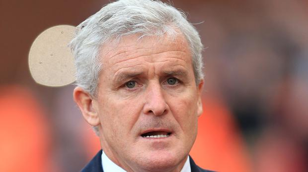 Stoke boss Mark Hughes started his club management career with Blackburn in 2004