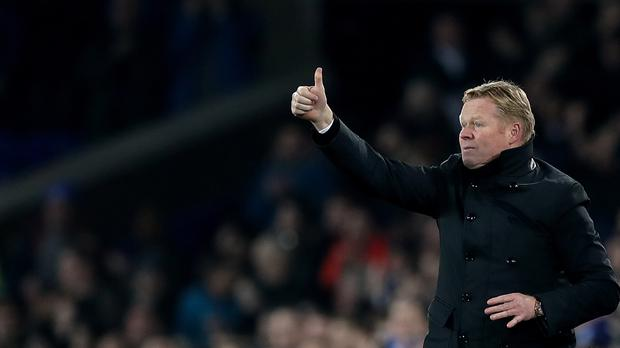 Everton manager Ronald Koeman liked what he saw as his side fought back against Arsenal