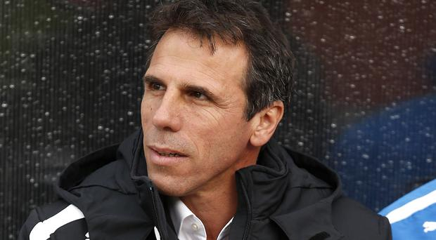Gianfranco Zola Picture: PA