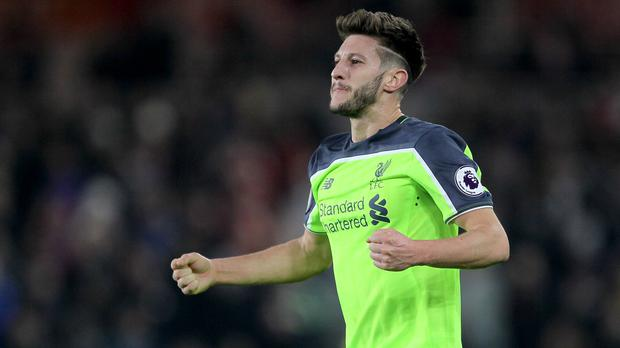 Adam Lallana fired a warning to Liverpool's Premier League rivals after their stunning 3-0 win at Middlesbrough