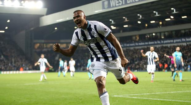 Salomon Rondon scored a hat-trick in West Brom's win over Swansea to lift the Baggies to seventh in the Premier League