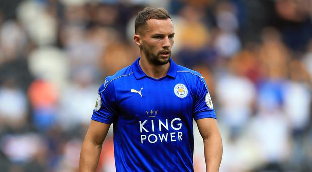 Leicester midfielder Danny Drinkwater is hopeful of shaking off a knee injury to face Stoke