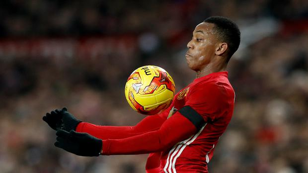 Manchester United's Anthony Martial wants to prove himself