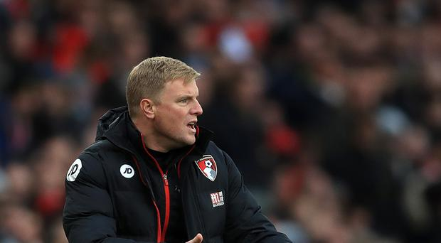 Bournemouth manager Eddie Howe does not expect to be busy in the January sales when the transfer window opens