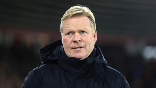 Recent history suggests Everton manager Ronald Koeman is in for a tough time on Monday